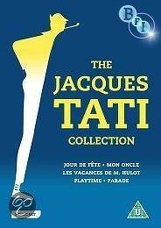 Cover van de film 'Jacques Tati Collection'