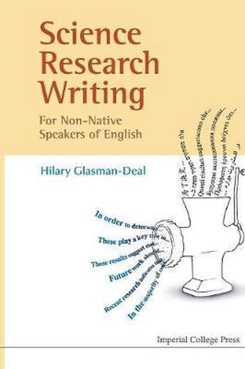 Science Research Writing For Non-native Speakers Of English - Glasman-deal Hilary