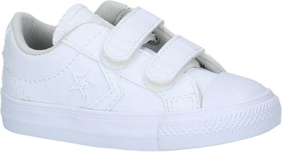 Converse Meisjes Sneakers Star Player Ev 2v Ox Kids - Wit - Maat 26