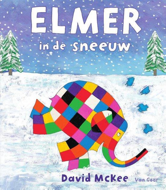 Elmer - Elmer in de sneeuw - David Mckee |