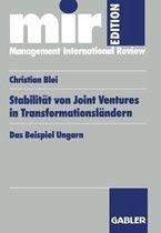 Stabilitat Von Joint Ventures in Transformationslandern