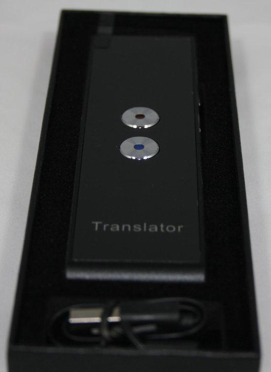 Vertaalcomputer - vertaal apparaat - voice translator, vertalen in 40 talen – Vakantie vertaler geschikt voor ruim 200 landen –
