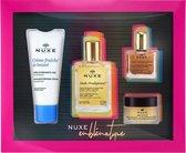 NUXE Best Sellers Geschenkset - 4 stuks - Prodigieuse - Reve de Miel - Creme Fraiche