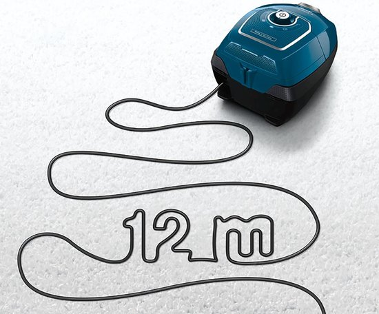 Bosch Ergomaxx'x BGL7PRO - Stofzuiger met zak - Petrol blauw