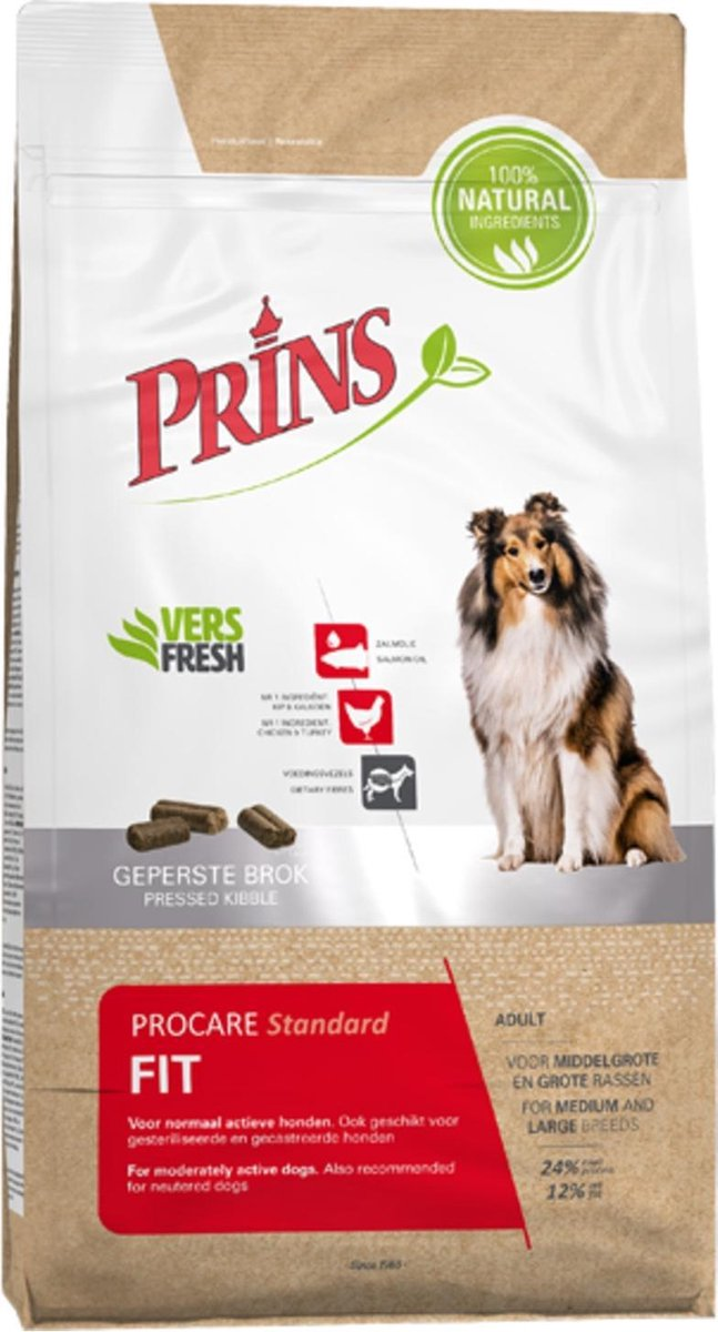 Prins ProCare Standaard Fit 15 kg. -  - 80009421