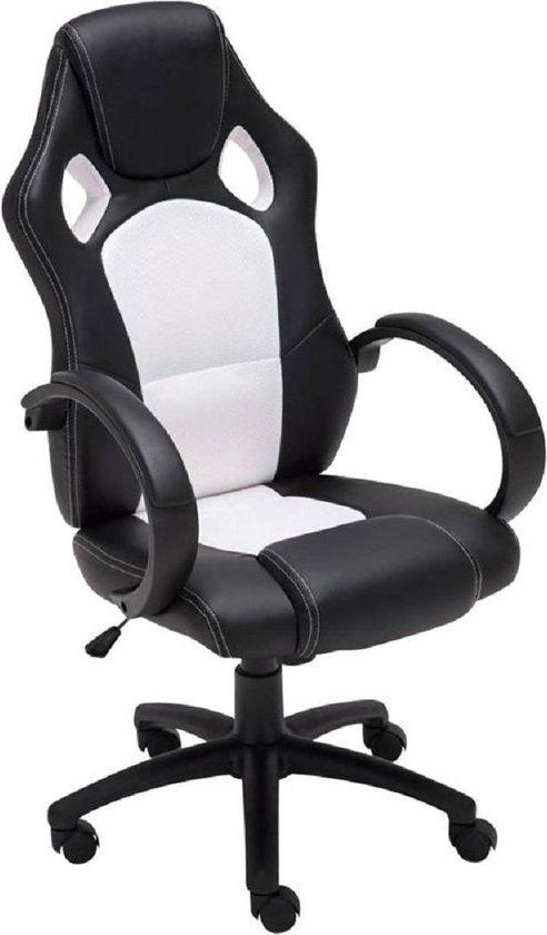 Design Bureaustoel Wit.Bol Com Maxxhome Luxe Gaming Chair Design Bureaustoel