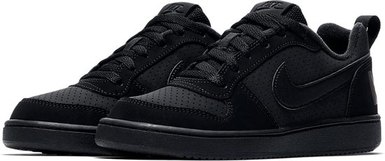 Nike Meisjes Sneakers Court Borough Low (kids) - Zwart - Maat 38