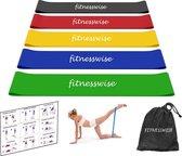 FITNESSWISE - fitnesset, inclusief oefeningen & handige opberghoes