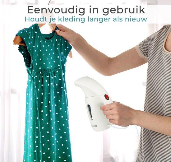 LifeGoods Kledingstomer - Handstomer voor Kleding/Textiel/Stof - 180ML Tank - Wit