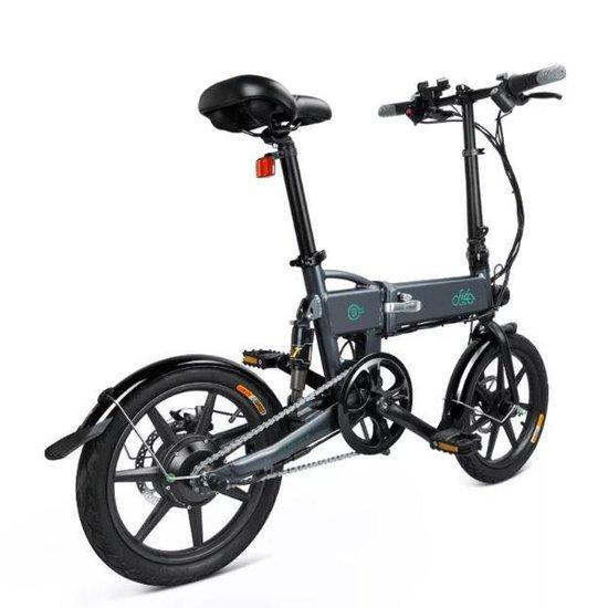 FIIDO D2s 6 Speed - Elektrische Vouwfiets - Space grey - 25 km per uur