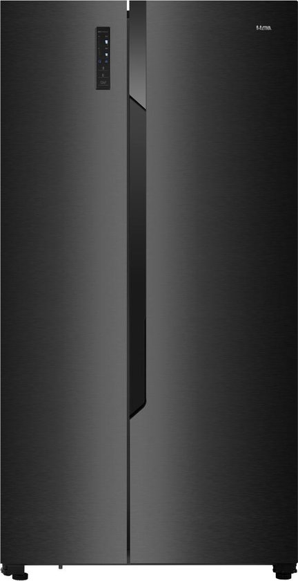 Koelkast: ETNA AKV1178ZWA - Amerikaanse koelkast - Zwart, van het merk ETNA