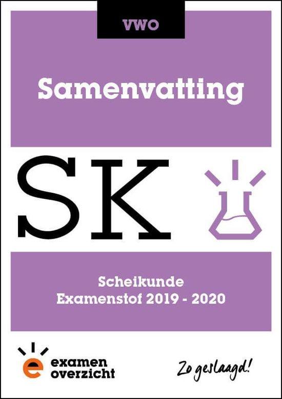 ExamenOverzicht - Samenvatting Scheikunde VWO - ExamenOverzicht | Readingchampions.org.uk