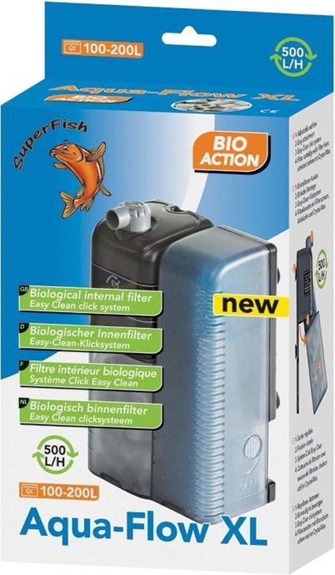 Superfish AquaFlow XL Biofilter - Aquariumfilter - 500 L/H -10 x 15 x 23 cm