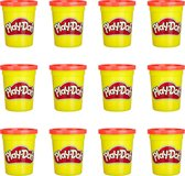 Play-Doh Rood/Oranje Klei - 12 Potjes
