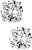 Glams Oorknoppen Zirkonia - Zilver