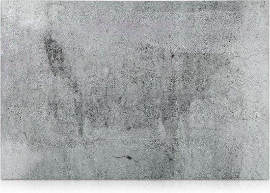 Afbeelding van ARVA© Magneetbord betonlook | magnetisch en schrijfbaar | whiteboard 60x40cm wereld map wandmontage | planner foto | + magneten + marker + markeerstift houder