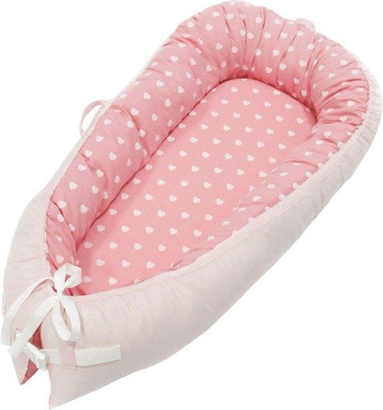 Little World Babynest Sleepy Pink Dots
