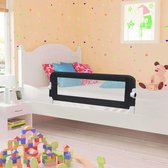 Bedhekje voor Peuterbed 102x42cm / Bedhek peuter bed / Bedrail / Bedrek / Uitvalhekje / Uitvalbeschermer / Uitvalbeveiliging Kinderbed
