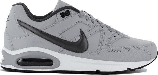 Nike Air Max Command Leather Heren Sneakers - Wolf Grey/Black - Maat 45