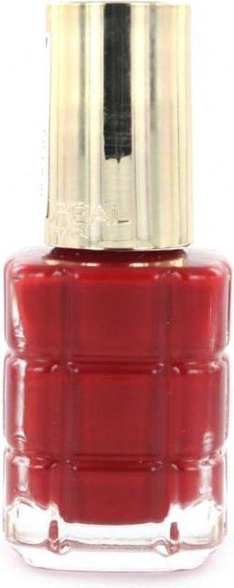 L'Oréal Color Riche a L'Huile Nagellak - 554 Carmin Parisien