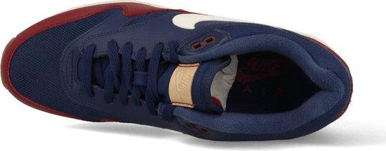 Nike Air Max 1 Blauw Rood Heren Sneakers AH8145 400