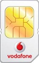 Vodafone Prepaid 3in1 sim incl 5 euro