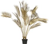 WOOOD Palm Kunstplant - Goud - 110x75x75