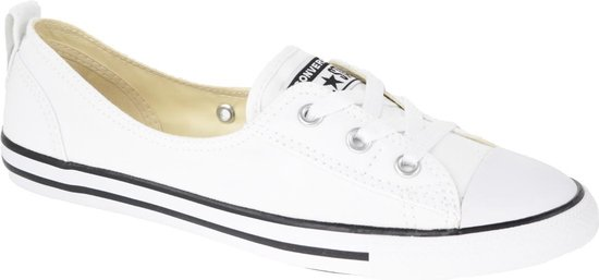 bol.com | Converse All Star Ballet Lace 547167C Wit maat 38.5
