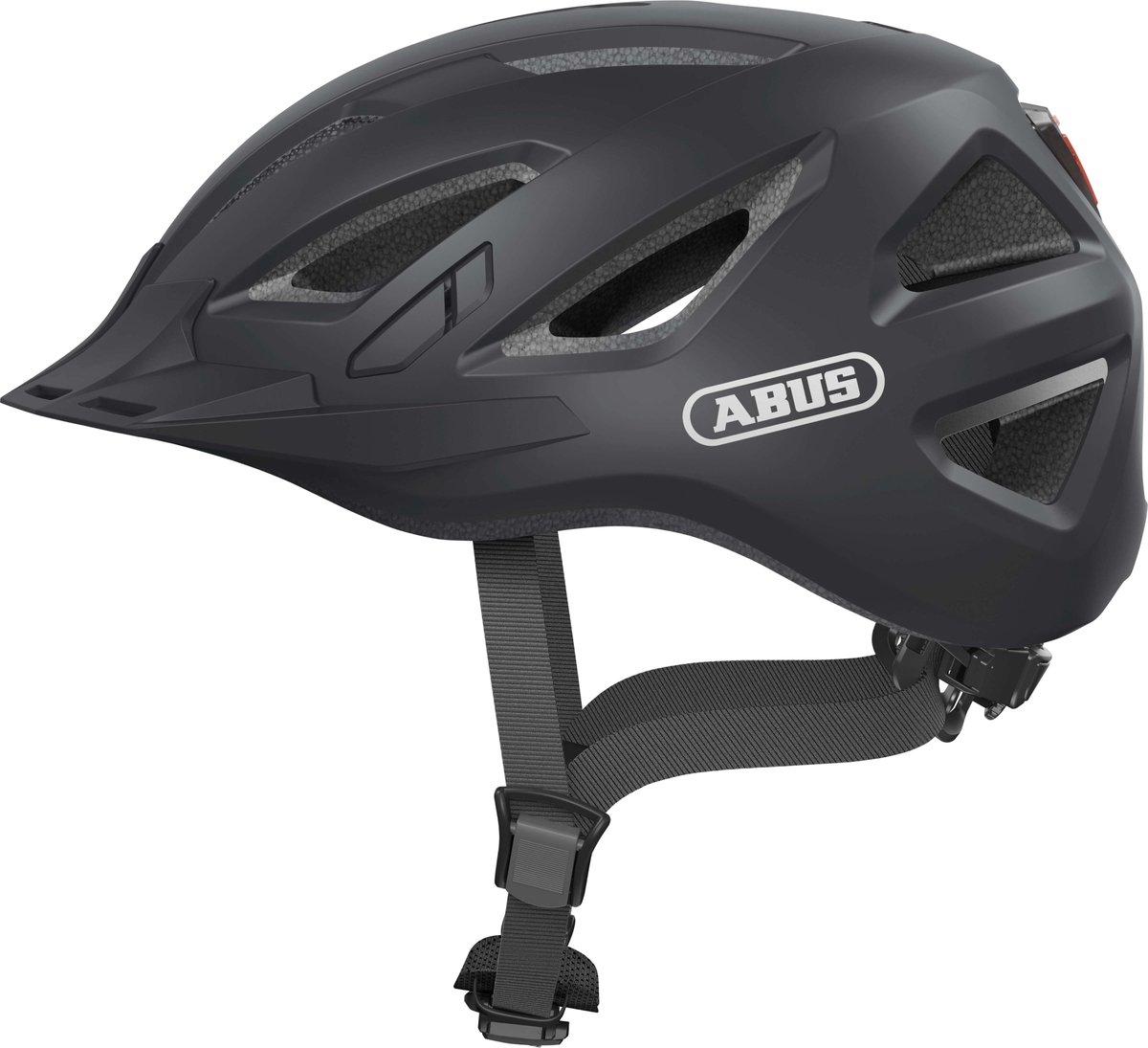ABUS Urban-I 3.0 Fietshelm - Maat  L (56-61 cm) - velvet black