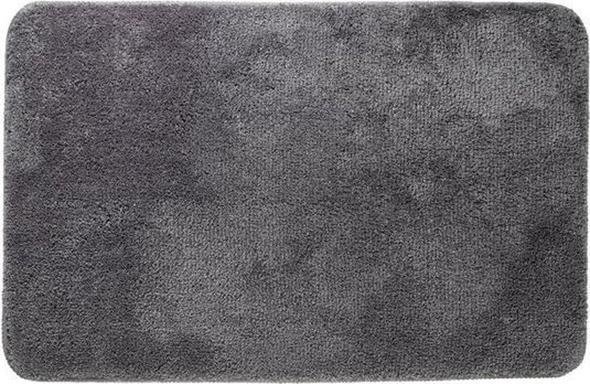 Sealskin Angora Badmat - 60x90 cm - Grijs