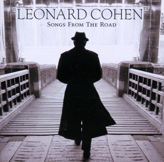 CD cover van Songs From The Road van Leonard Cohen