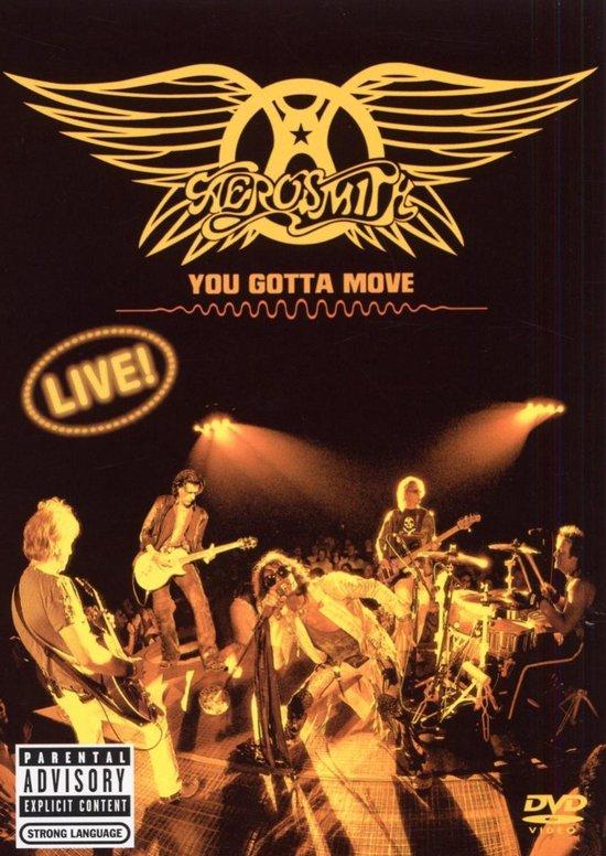 Cover van de film 'Aerosmith - You Gotta Move'