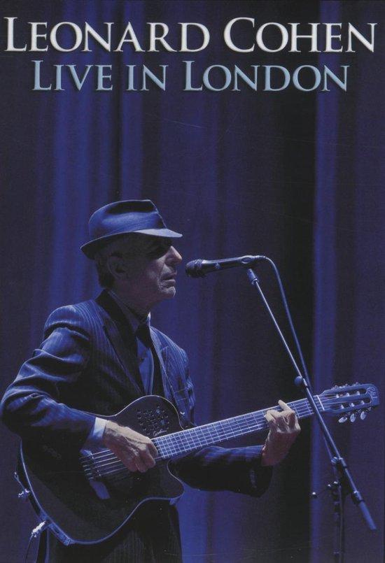 CD cover van Live In London van Cohen, Leonard