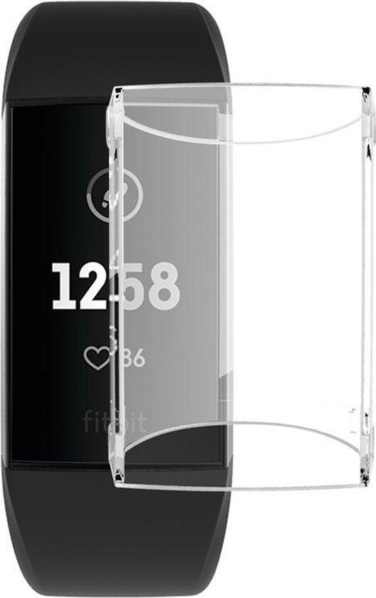 Fitbit Charge 3 & 4 TPU Case van By Qubix - Transparant - Geschikt voor activity tracker Fitbit Charge 3 & 4 - Volledig beschermd!