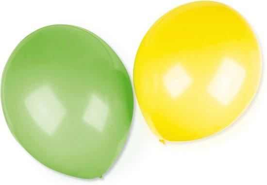 Amscan Ballonnen Extra Groot 40,6 Cm Groen/geel 4 Stuks