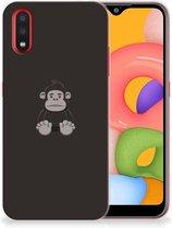 Samsung Galaxy A01 Telefoonhoesje met Naam Gorilla