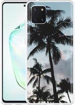 Samsung Galaxy Note 10 Lite Hoesje Palmtrees