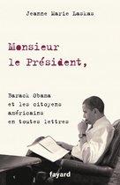 Boek cover Monsieur le Président, van Jeanne Marie Laskas