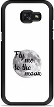 Galaxy A5 2017 Hardcase Hoesje Fly me to the Moon