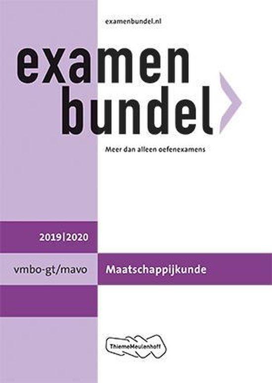 Examenbundel vmbo-gt/mavo Maatschappijkunde 2019/2020