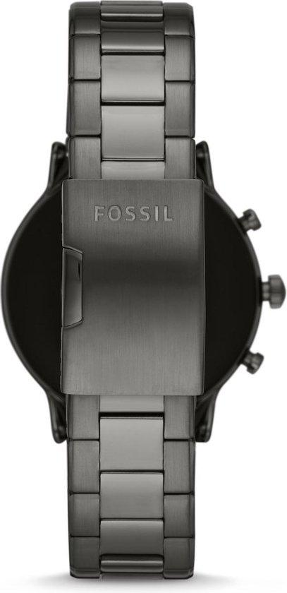 Fossil Carlyle Gen 5  FTW4024 - Smartwatch Heren - 44 mm - Grijs