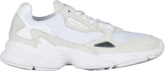 adidas Falcon Dames Sneakers - Ftwr White/Ftwr White/Crystal White - Maat  40 2/3
