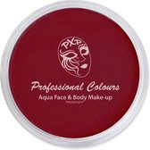 PXP Aqua schmink face & body paint dark red special FX 10 gram