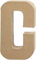 Letter, groot, C, h: 20,5 cm, b: 11,5 cm, 1stuk, dikte 2,5 cm
