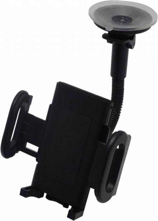 Telefoonhouder voor in de auto - universeel - zwart
