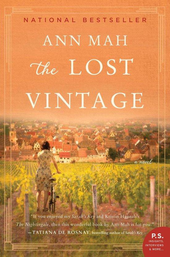 Boek cover The Lost Vintage van Ann Mah (Onbekend)