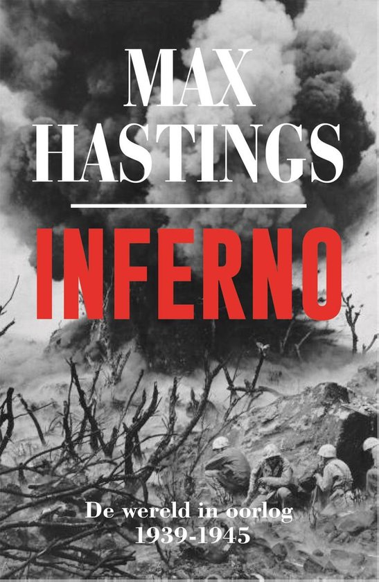Boek cover Inferno van Max Hastings