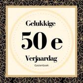 Gelukkige 50e Verjaardag Gastenboek