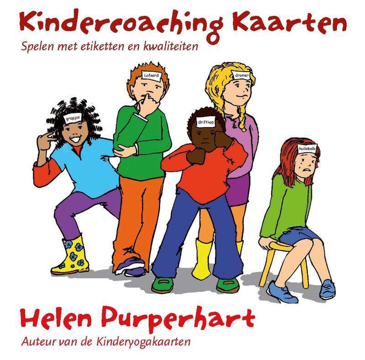 Uitgelezene bol.com   Kinderyoga - Kindercoaching kaarten, Helen Purperhart CN-81