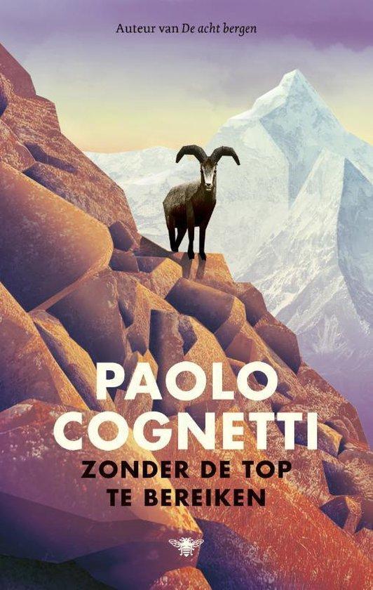 Boek cover Zonder de top te bereiken van Paolo Cognetti (Hardcover)